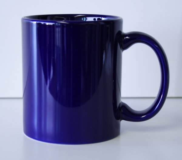 11 oz. Cobalt Blue Ceramic Coffe Mug