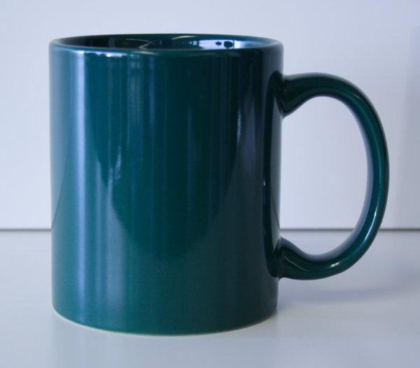 11 oz. Green Ceramic Coffe Mug