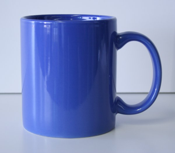 11 oz. Ocean Blue Ceramic Coffe Mug