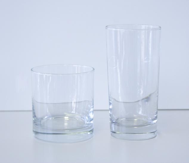 On the Rocks & Highball Glasses